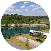 RV spots at Waterside at Blue Ridge