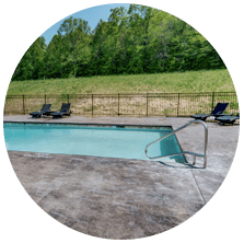 Outdoor pool at Waterside at Blue Ridge