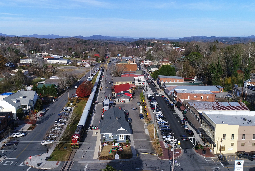 Downtown Blue Ridge GA